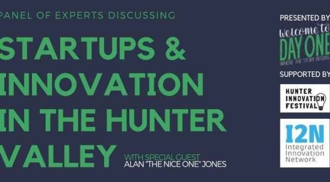 Expert Panel discussing Startups & Innovation in the Hunter Valley